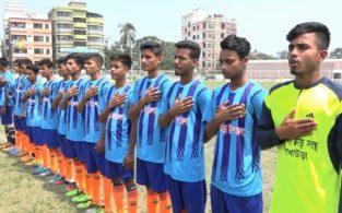 ব্রাহ্মণবাড়িয়ায় বঙ্গবন্ধু জাতীয় গোল্ডকাপ ফুটবল টুর্ণামেন্ট শুরু