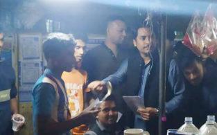 নৌকার পক্ষে প্রচারণা শুরু করেছে ব্রাহ্মণবাড়িয়া শহর ছাত্রলীগ