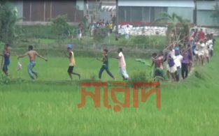 আশুগঞ্জে ক্রিকেট খেলাকে কেন্দ্র করে সংঘর্ষে আহত ২০ (ভিডিও)