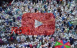 ভারতে মুসলিম নির্যাতনের প্রতিবাদে ব্রাহ্মণবাড়িয়ায় বিক্ষোভ(ভিডিও)