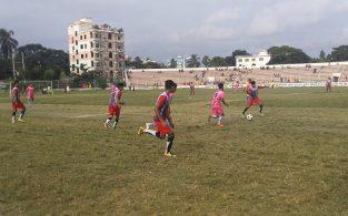 ব্রাহ্মণবাড়িয়ায় অনূর্ধ্ব-১৭ ফুটবল টুর্নামেন্টের উদ্বোধন