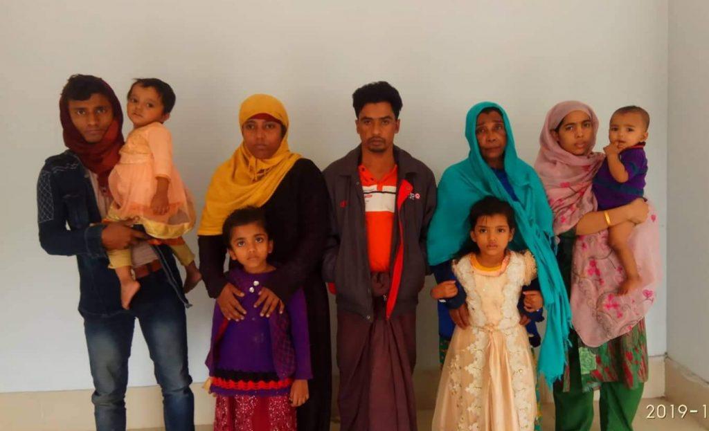 আখাউড়ায় রেলস্টেশন থেকে ৯জন রোহিঙ্গা নাগরিক আটক