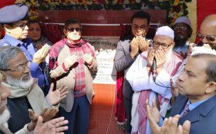 ব্রাহ্মণবাড়িয়া জেলা মডেল মসজিদের ভিত্তিপ্রস্থর স্থাপন