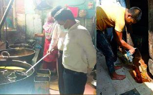 পোড়া তেল দিয়ে খাদ্য তৈরি, 'শাহী বেকারি'কে জরিমানা