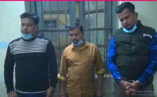 ঢাকায় প্রবাসীর বাসায় চুরি,চোরাই স্বর্ণ ক্রয় করায় ব্রাহ্মণবাড়িয়ায় ৩জন আটক