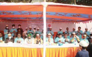ব্রাহ্মণবাড়িয়ায় জামিয়ার মাহফিলে 'বাতিঘর' এর বিনামূল্যে ব্লাড গ্রুপ নির্ণয়