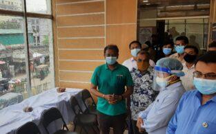 ব্রাহ্মণবাড়িয়া তান্ডব: ক্ষতিগ্রস্ত স্থাপনা পরিদর্শন করলেন অতিরিক্ত সচিব