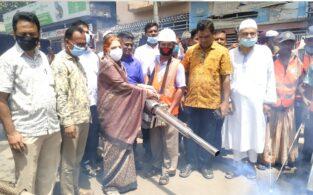 ব্রাহ্মণবাড়িয়া পৌরসভার মাসব্যাপী মশকনিধন অভিযান শুরু